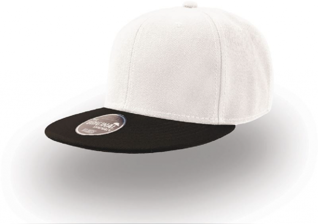 Atlantis Snap Back White black-01