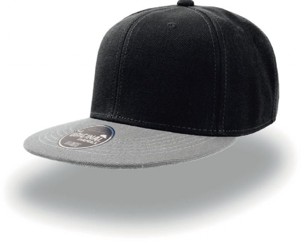 Atlantis Snap Back black grey-01