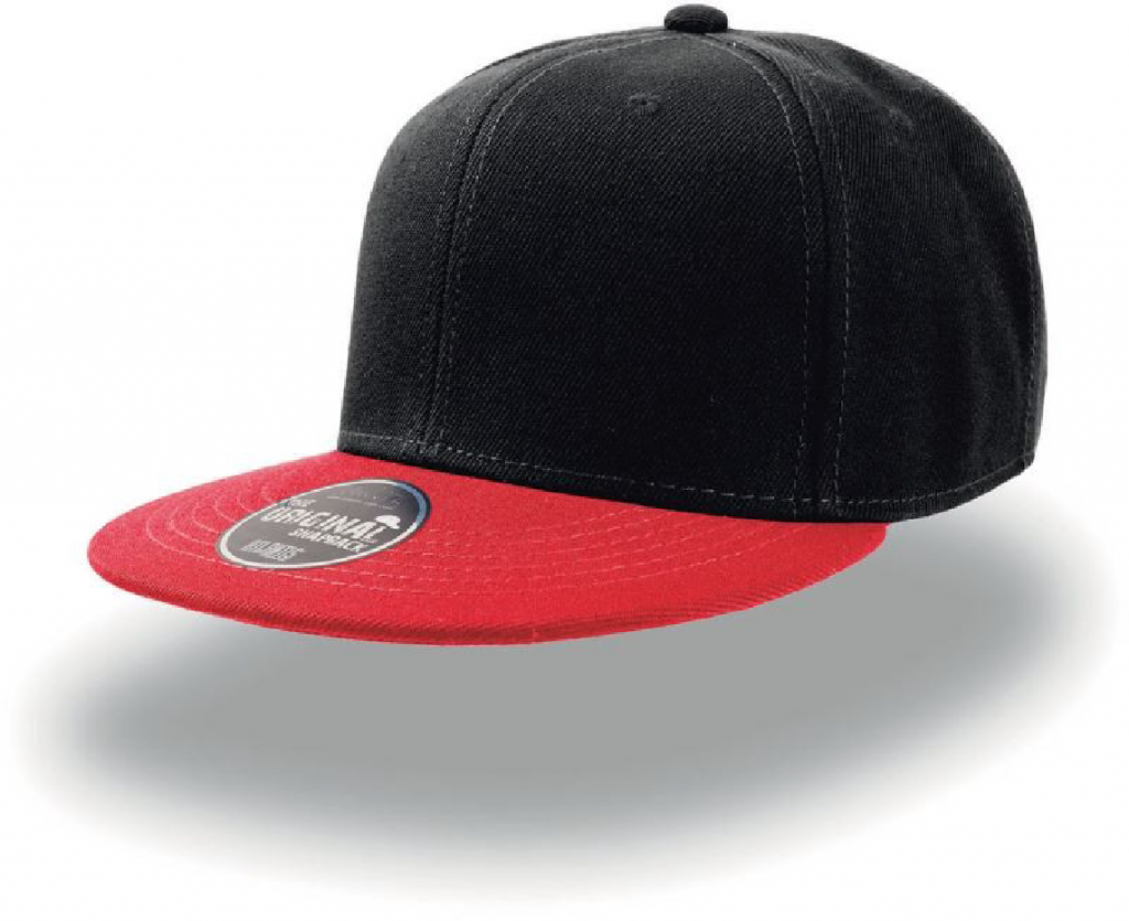 Atlantis Snap Back black red-01