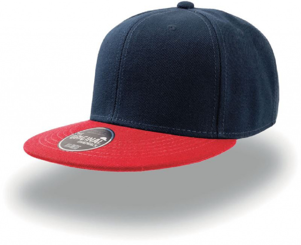 Atlantis Snap Back navy red-01