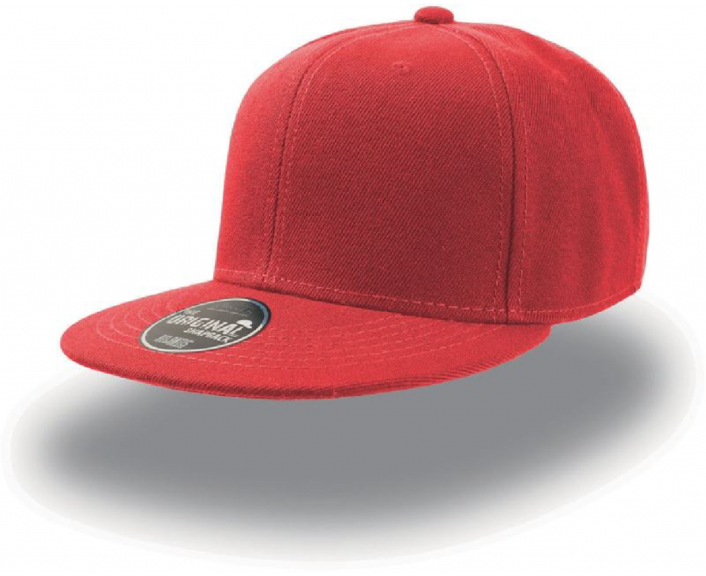 Atlantis Snap Back red-01
